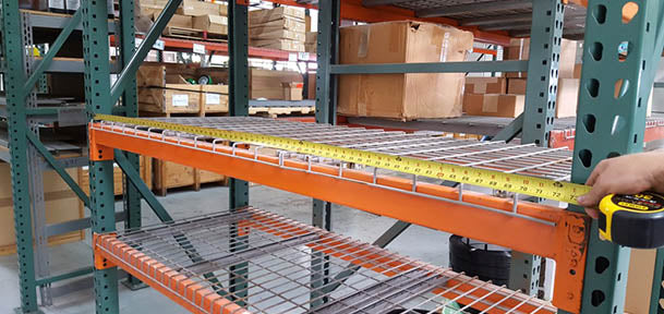 How to Measure Pallet Rack
