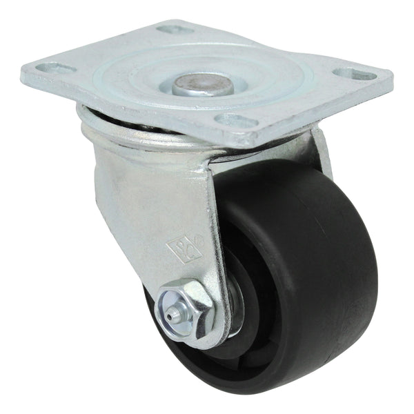 "3"" x 1-13/16"" MaxRok Heavy Duty Machine Swivel Caster 1000 lbs. Cap."