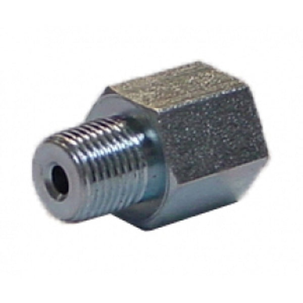 "Adapter - 1/8"" NPT Male x 1/8"" Female, 15/16"" Long"