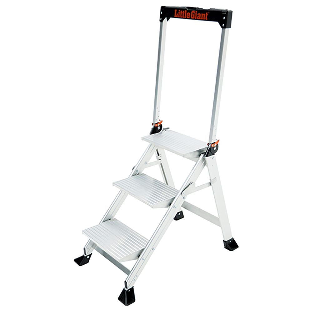 3 Ft. Jumbo Step Aluminum Step Ladder - Type IAA