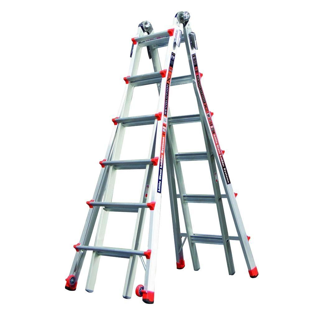 Revolution Model 26 Alum. Articulating Ladder,Trestle Brackets - IA