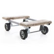 Carpeted Piano Dolly Fixed Axle - 1400 lbs. Capacity