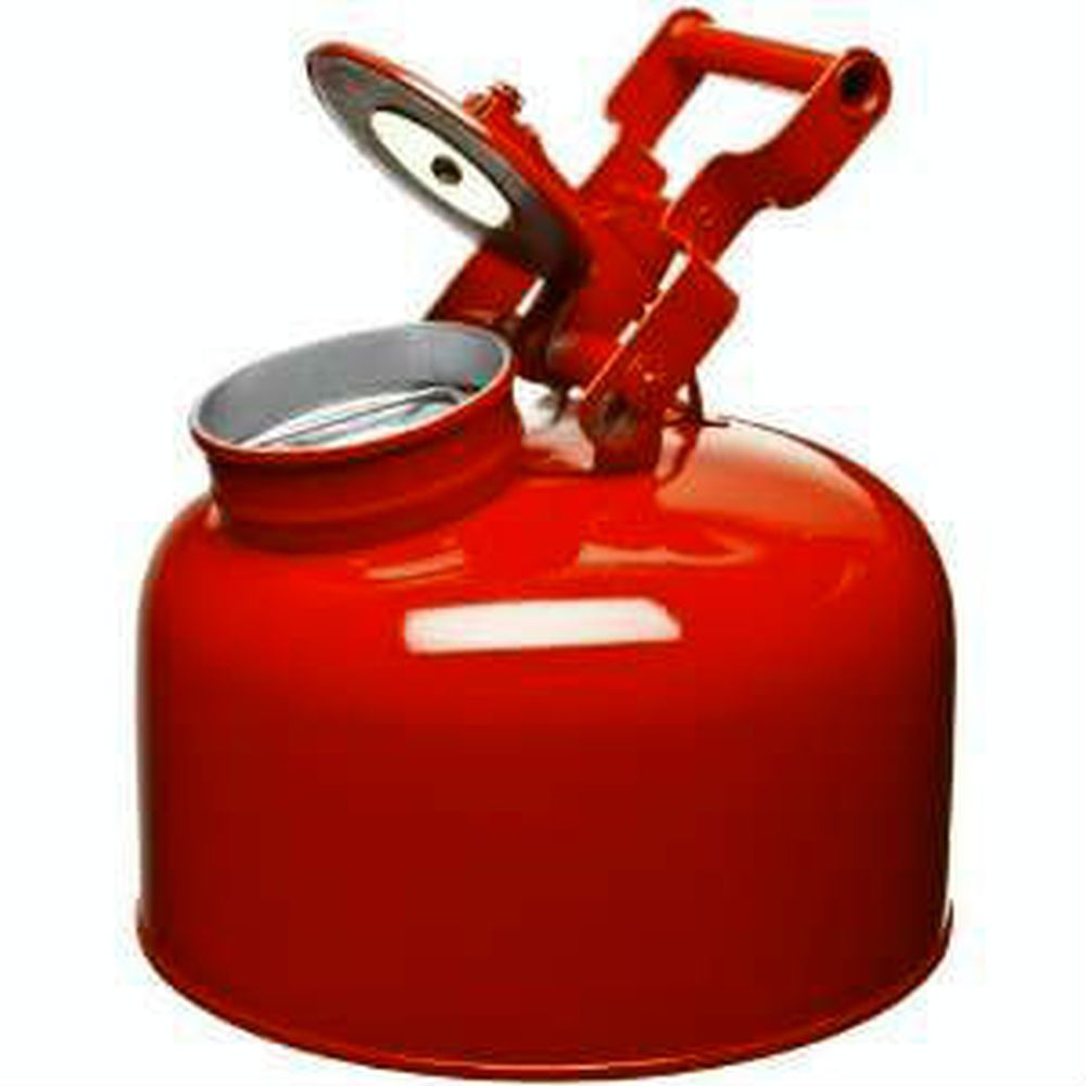 Disposal Can 2.5 Gal. Galvanized Steel Red - 1423