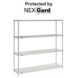 Wire Shelving Poly-Z-Brite Series Starter Unit (86