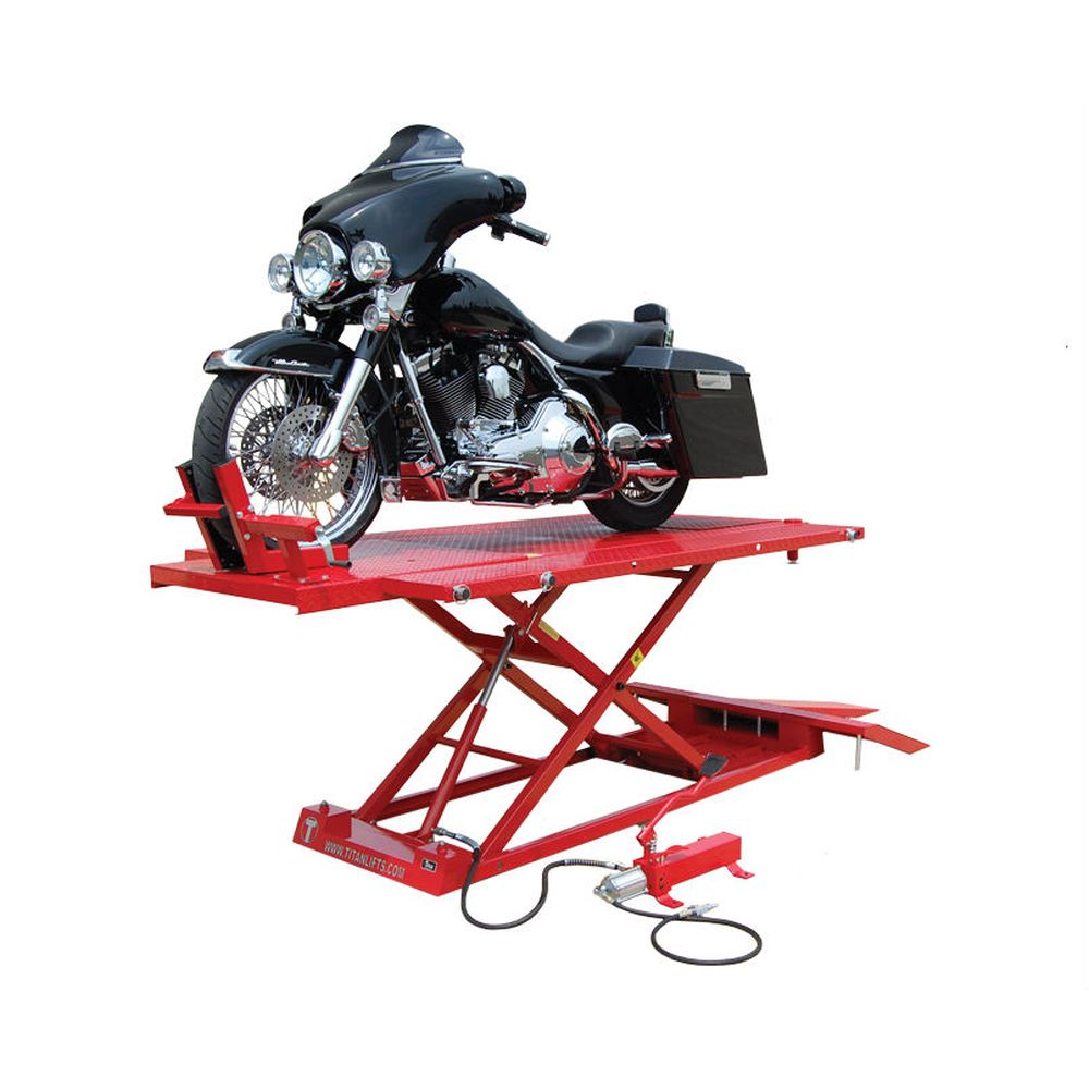 Titan 1500XLT Motorcycle Lift