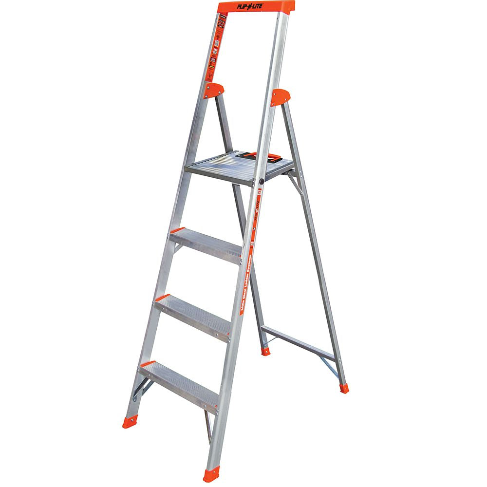 6 Ft. Flip-N-Lite Aluminum Platform Step Ladder - Type IA