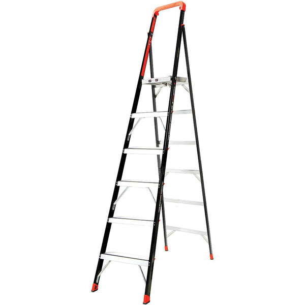 8 Ft. AirWing Fiberglass Platform Step Ladder - Type IAA