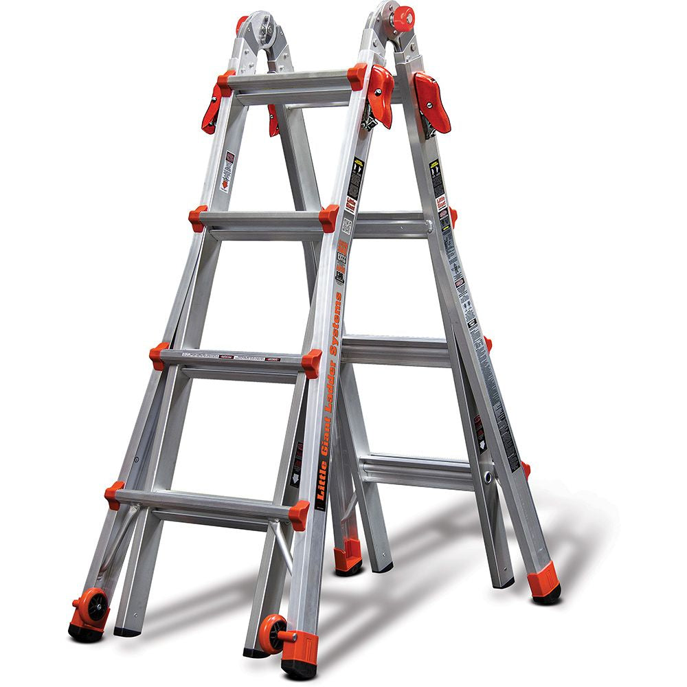 Velocity Model 17 Aluminum Articulating Ladder - Type IA