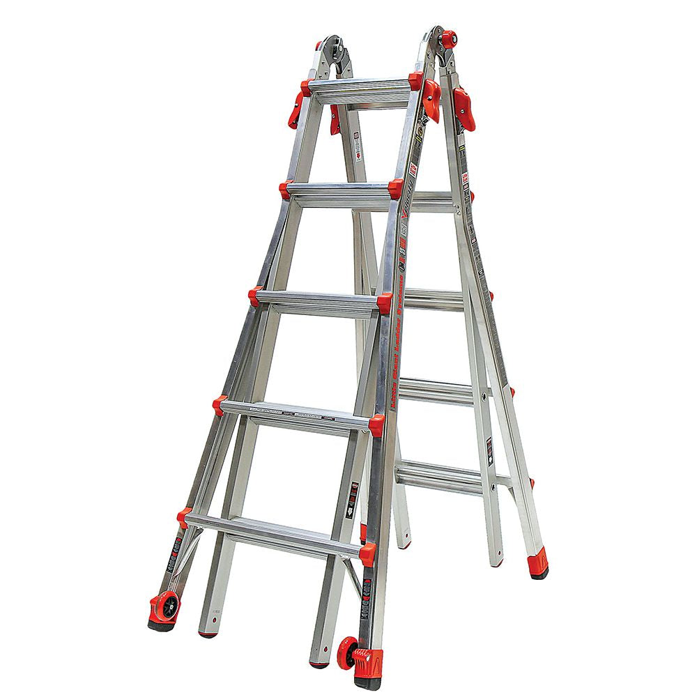Velocity Model 22 Aluminum Articulating Ladder - Type IA
