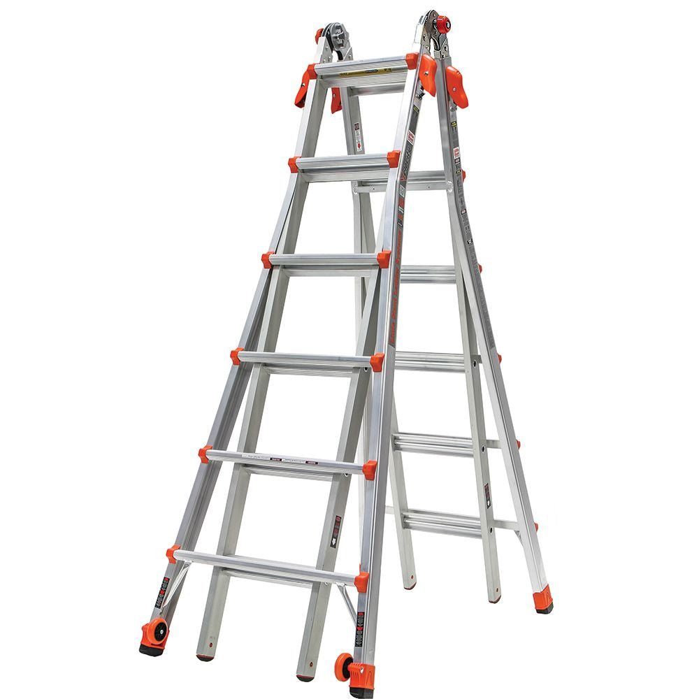Velocity Model 26 Aluminum Articulating Ladder - Type IA
