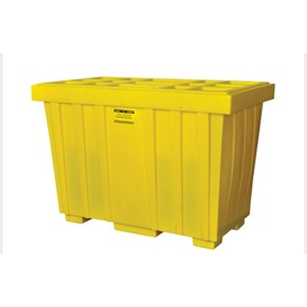 Spill Kit Box w/ Lid Yellow 220 Gallon