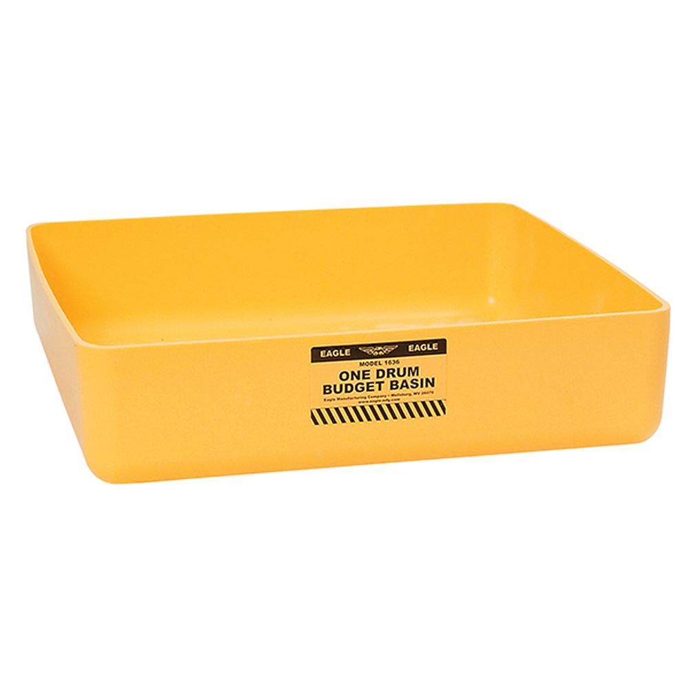 1 Drum Budget Basin Yellow
