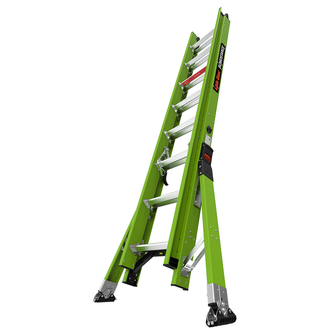 16 Ft. HyperLite SumoStance Fiberglass Extension Ladder - Type IAA