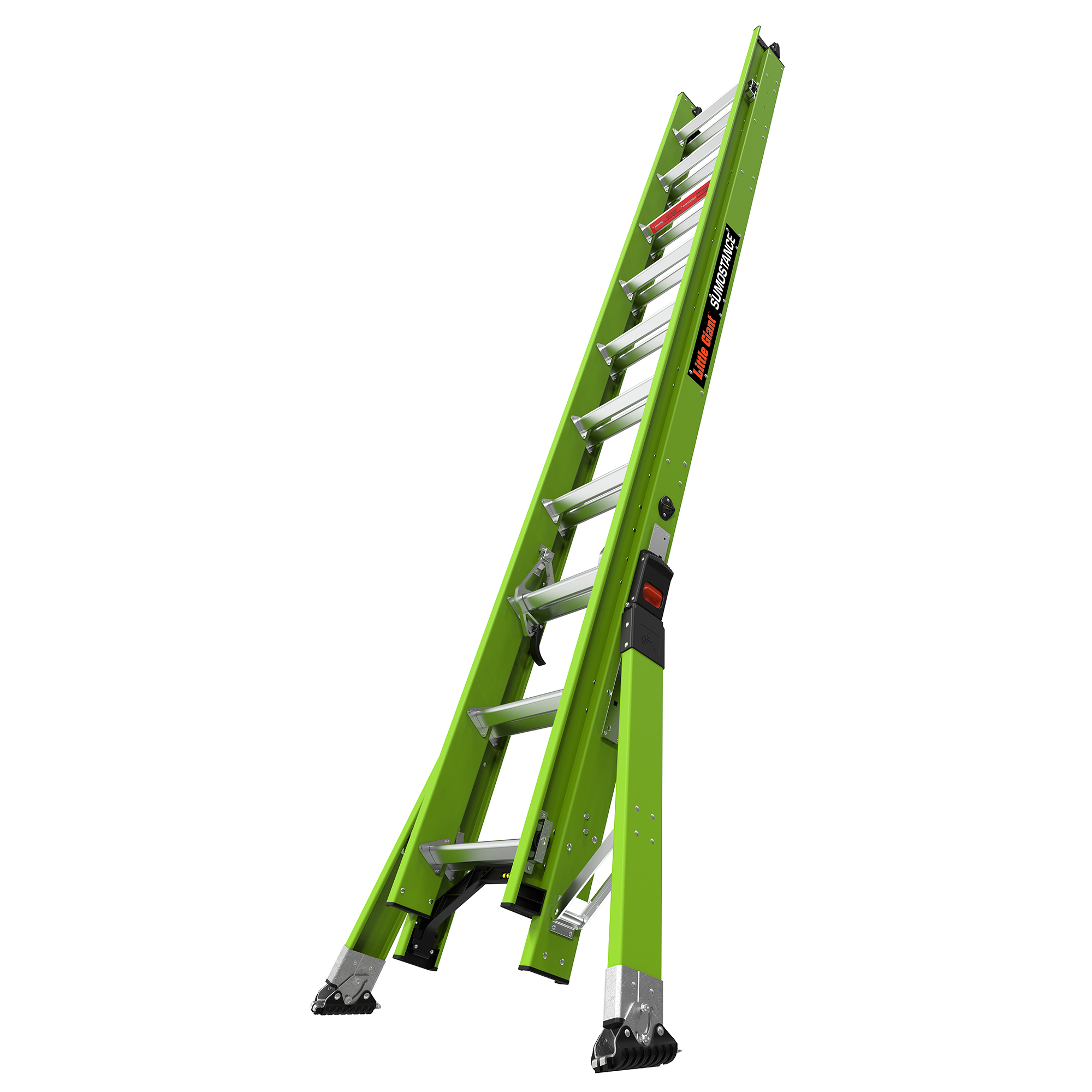20 Ft. HyperLite SumoStance Fiberglass Extension Ladder - Type IAA