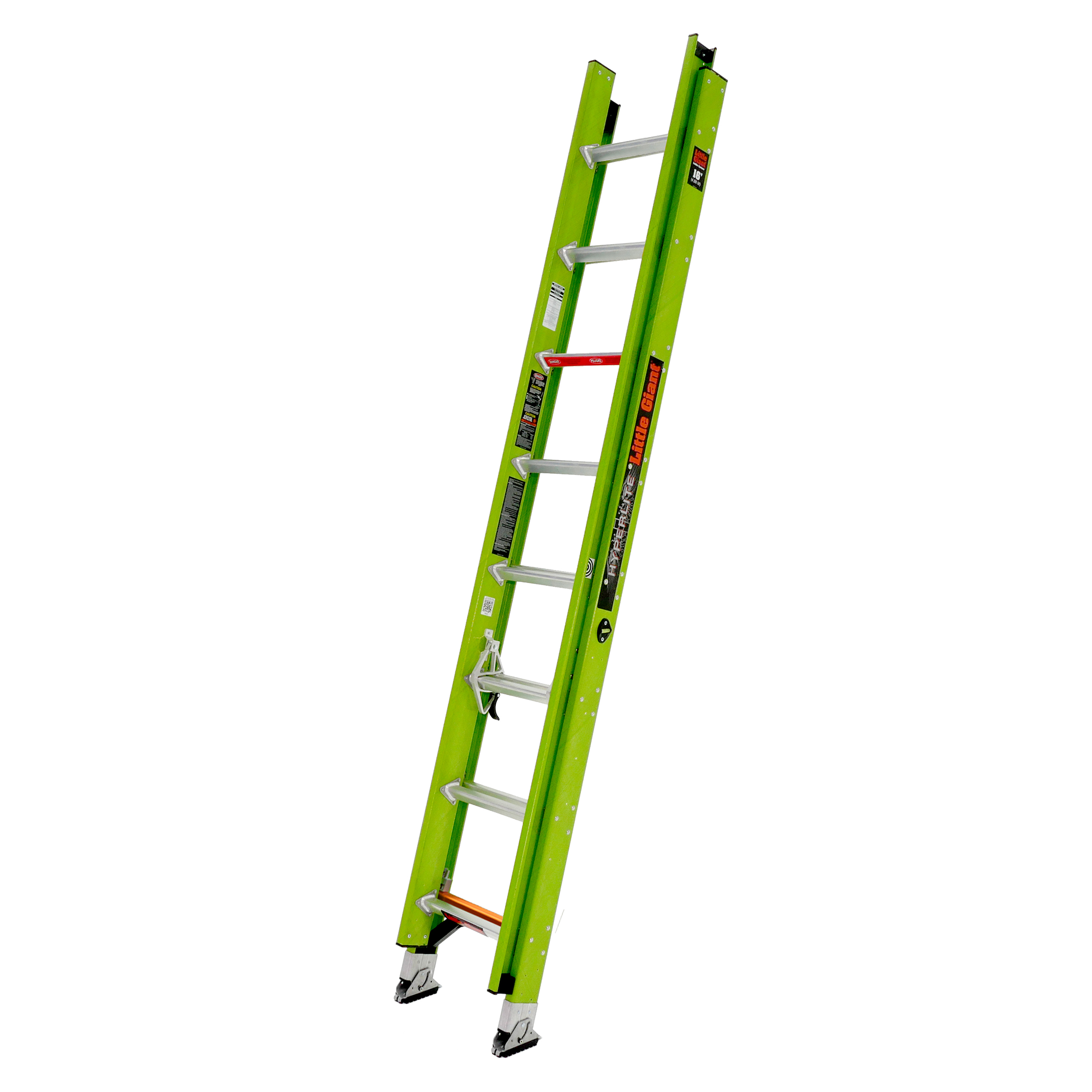 16 Ft. HyperLite Fiberglass Extension Ladder - Type IAA