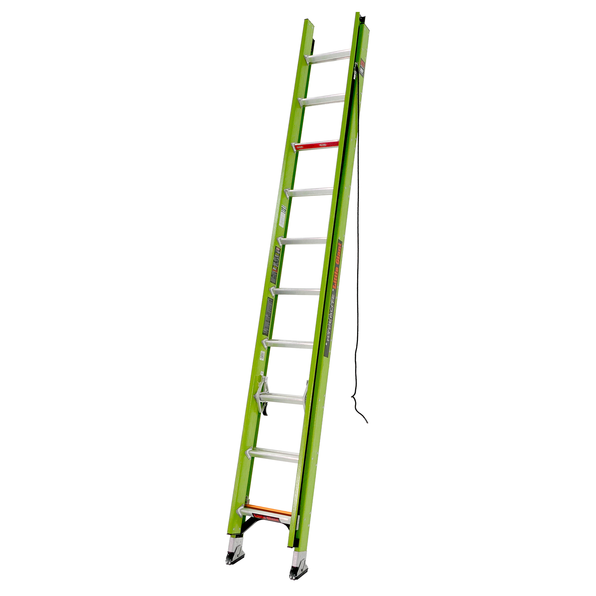 20 Ft. HyperLite Fiberglass Extension Ladder - Type IAA