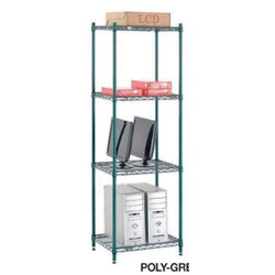 Wire Shelving Poly-Green Series Starter Unit
