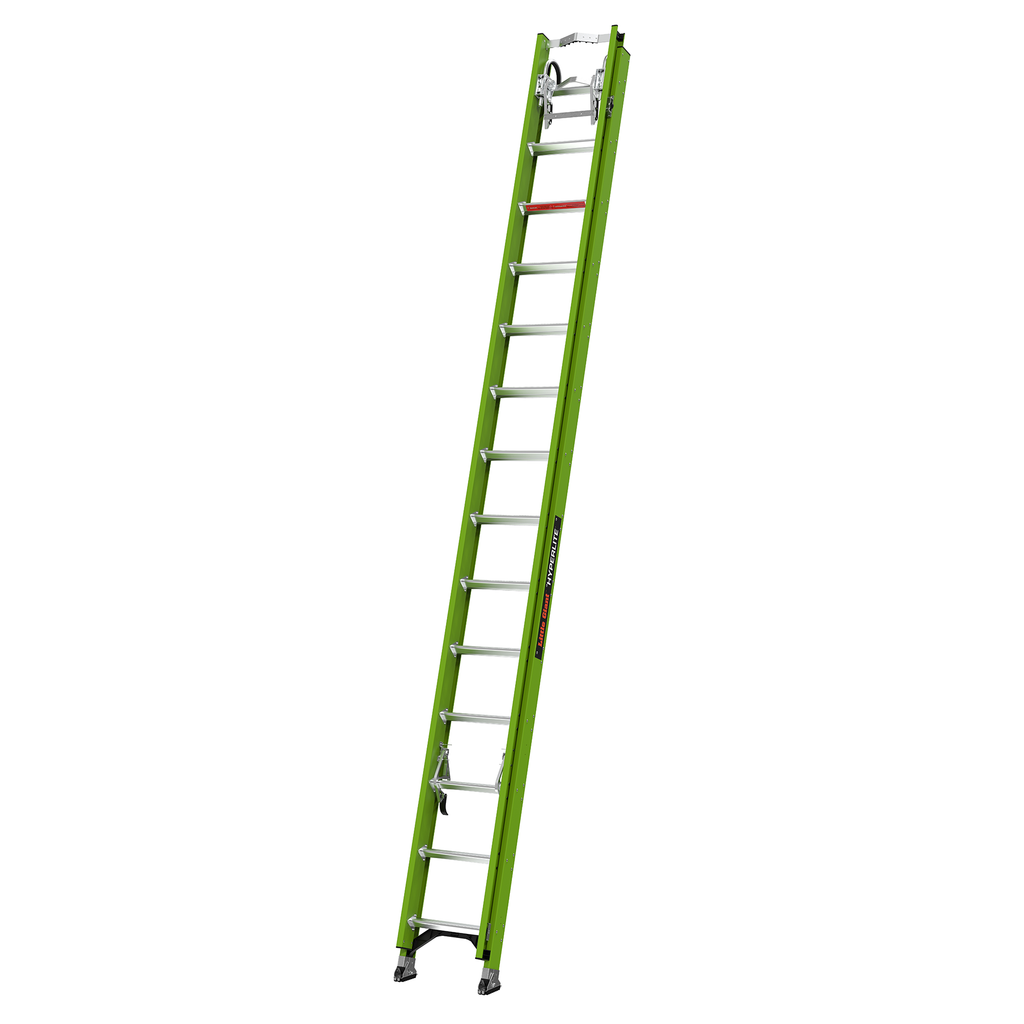 28 Ft Fiberglass Extension Ladder W Cable Hook Source 4 Industries