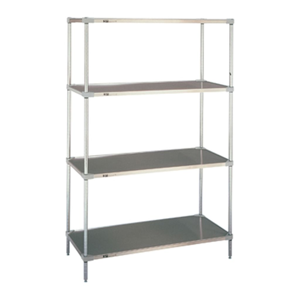 Super Erecta Solid Galv. Steel Shelving 18