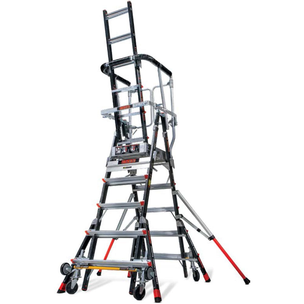 Fuselage Safety Cage Model 8-14 Fiberglass Step Ladder - Type IAA