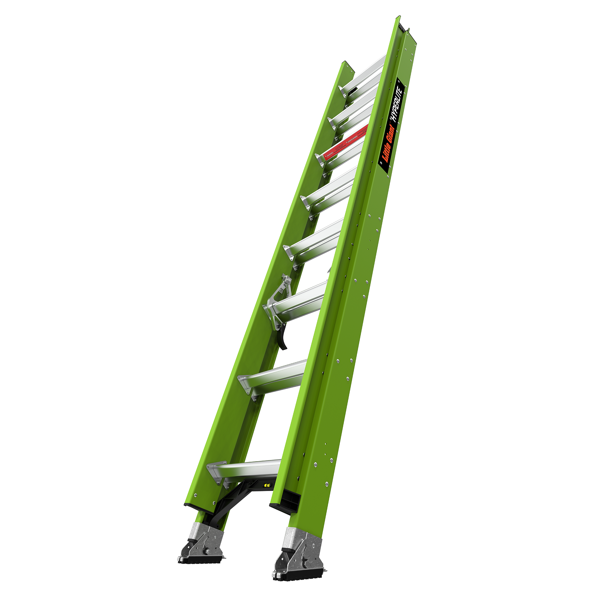 16 Ft. HyperLite Fiberglass Extension Ladder - Type IA