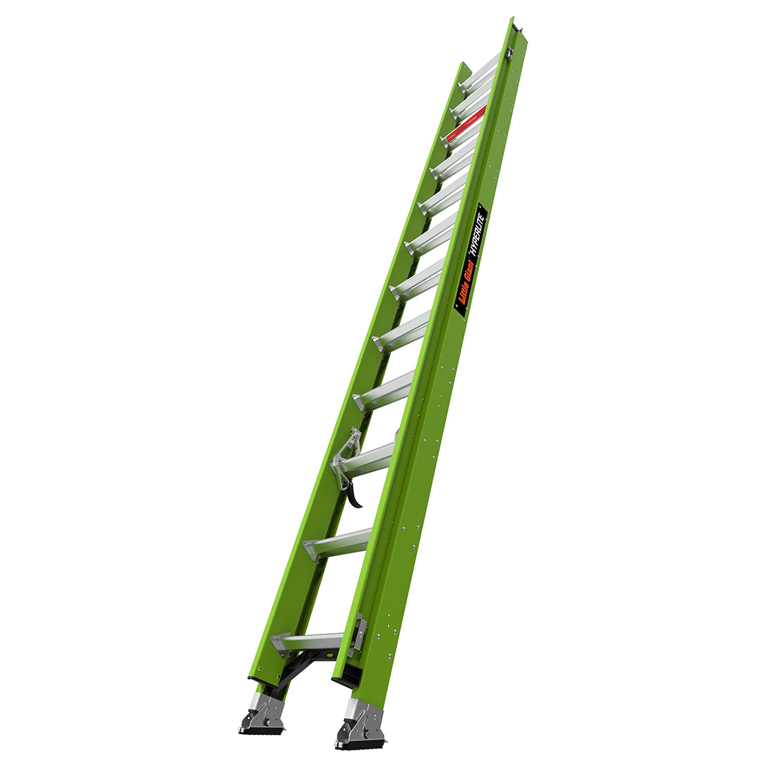 24 Ft. HyperLite Fiberglass Extension Ladder - Type IA