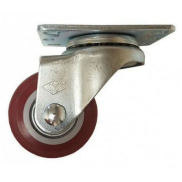 "2-1/2"" x 1-1/4"" Poly-Pro Wheel Swivel Caster - 250 lbs. Capacity"