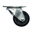 "2"" x 15/16"" Hard Rubber Wheel Swivel Caster - 125 lbs. Capacity"