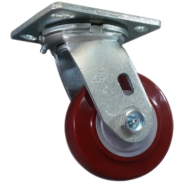 "4"" x 2"" Polymadic Wheel Swivel Caster - 600 lbs. capacity"