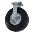 "10"" x 3"" Ever-Roll Flat Free Wheel Rigid Caster - 280 lbs. Capacity"