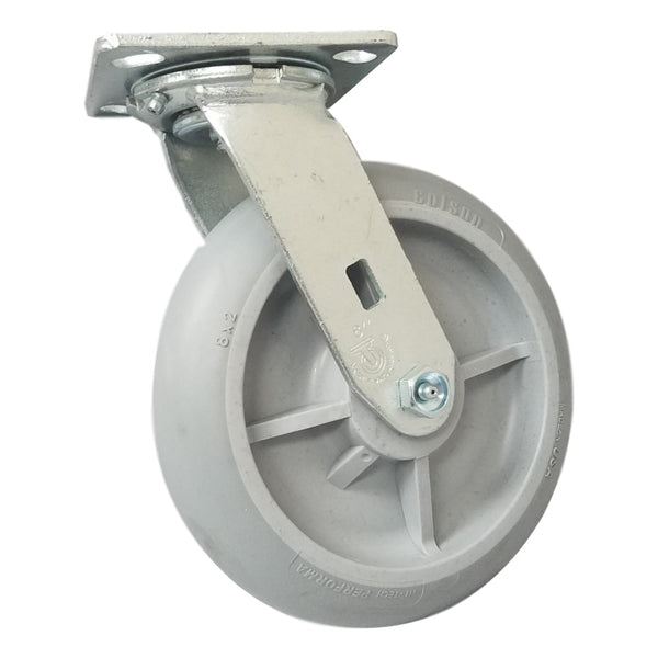 "8"" x 2"" Colson Performa Wheel Swivel Caster - 600 lbs. Capacity"