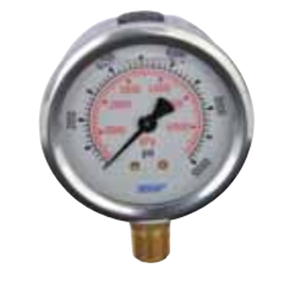 High Pressure Gauge 10,000 PSI