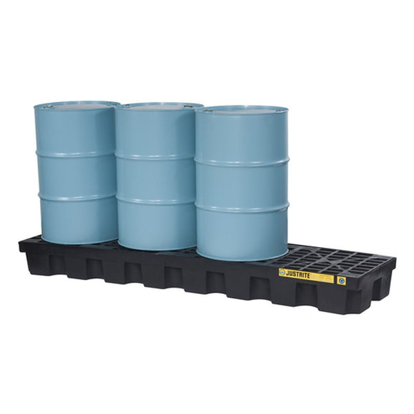 EcoPolyBlend Spill Control Plt., 4 Drum In-Line, Recycled Polyethylene