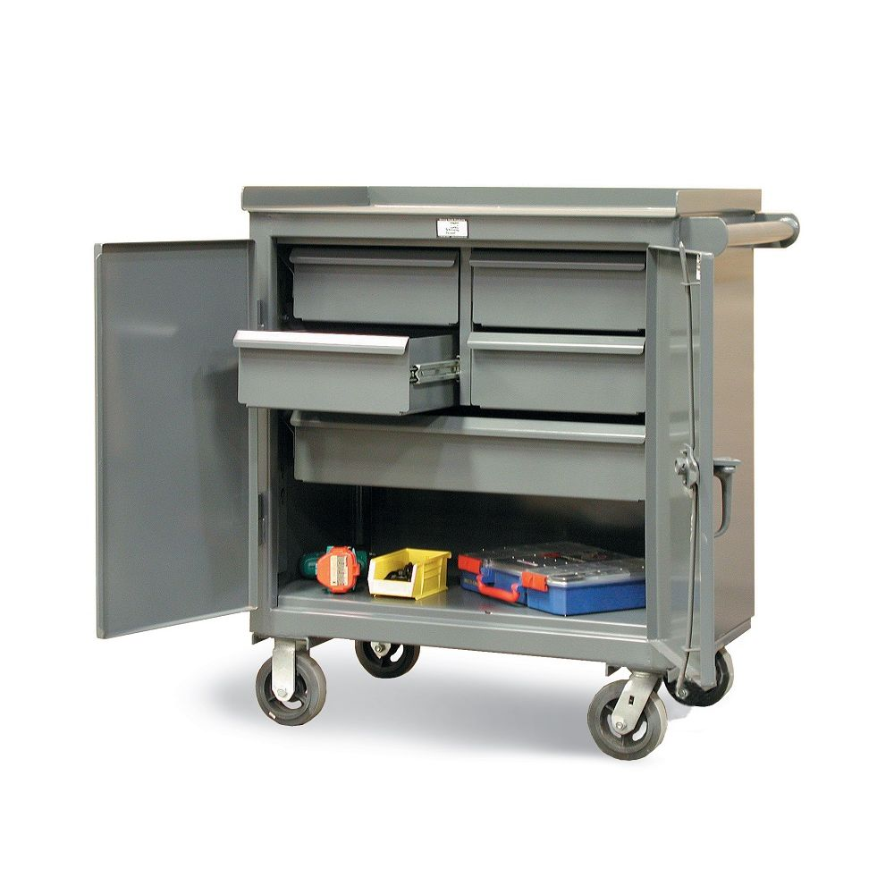 Tool Cart With 5 Drawers