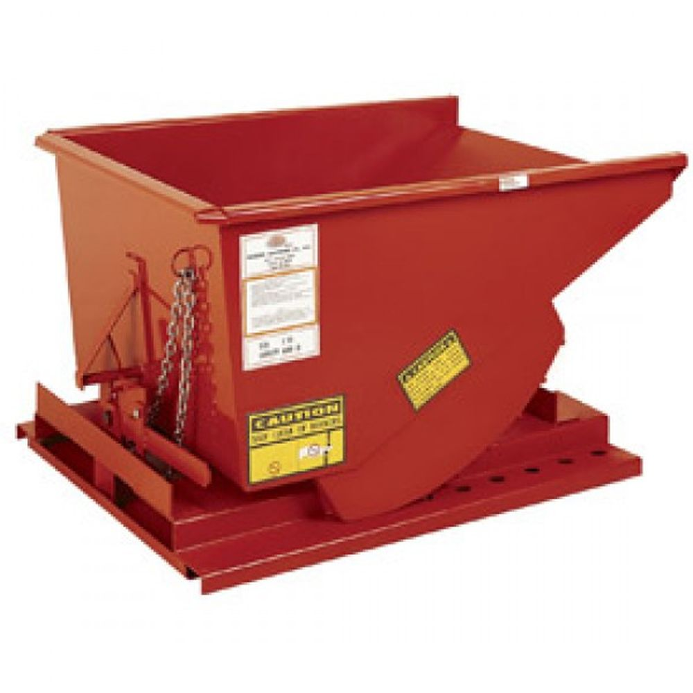 Self Dumping Hopper Extra Heavy Duty (1-1/2 Cubic Yards)