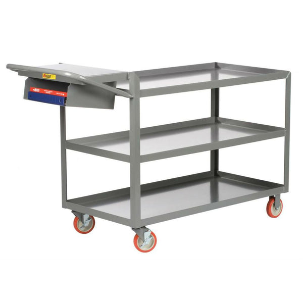3-Shelf Order Picking Truck (w/ Lips and Storage Pocket)