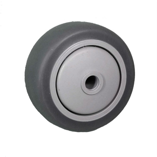 "3"" x 1-1/4"" Thermo-Pro Wheel Gray/Gray - 210 lbs Capacity"