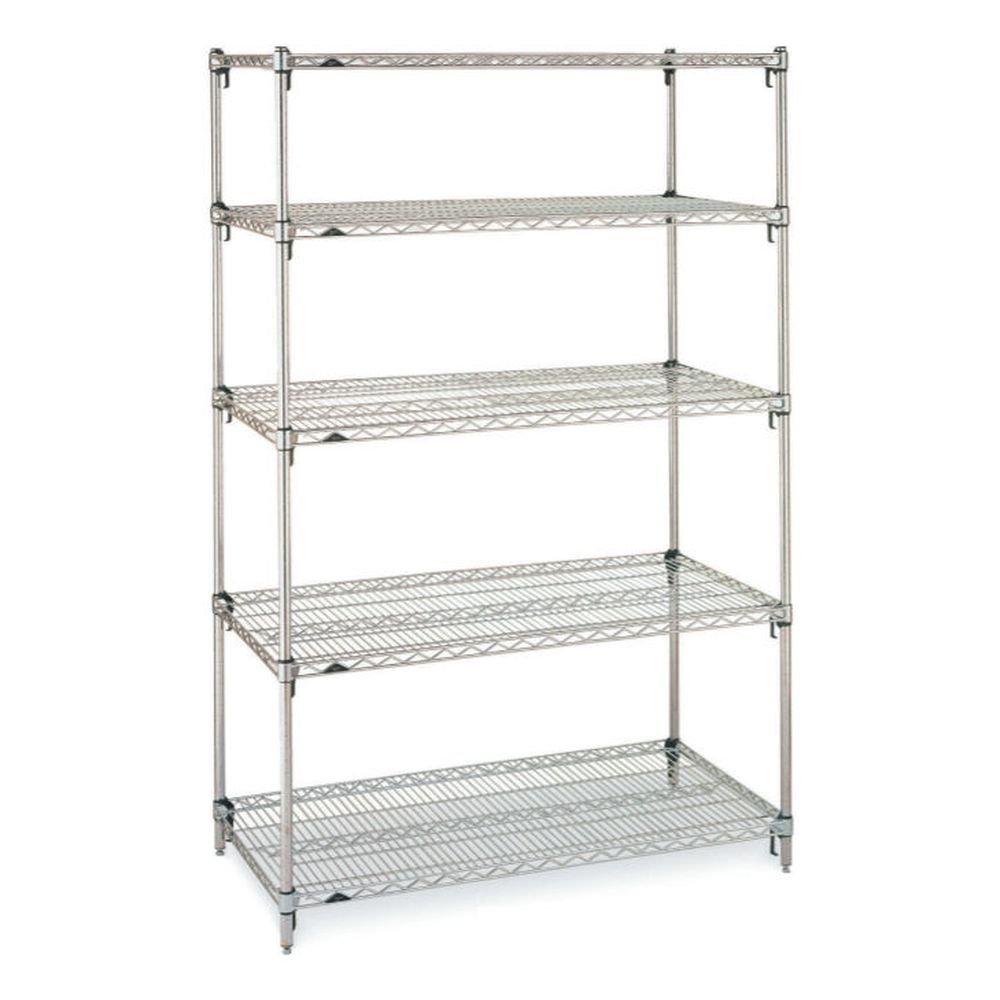Super Adj. Super Erecta Chrome Shlv Unit 18