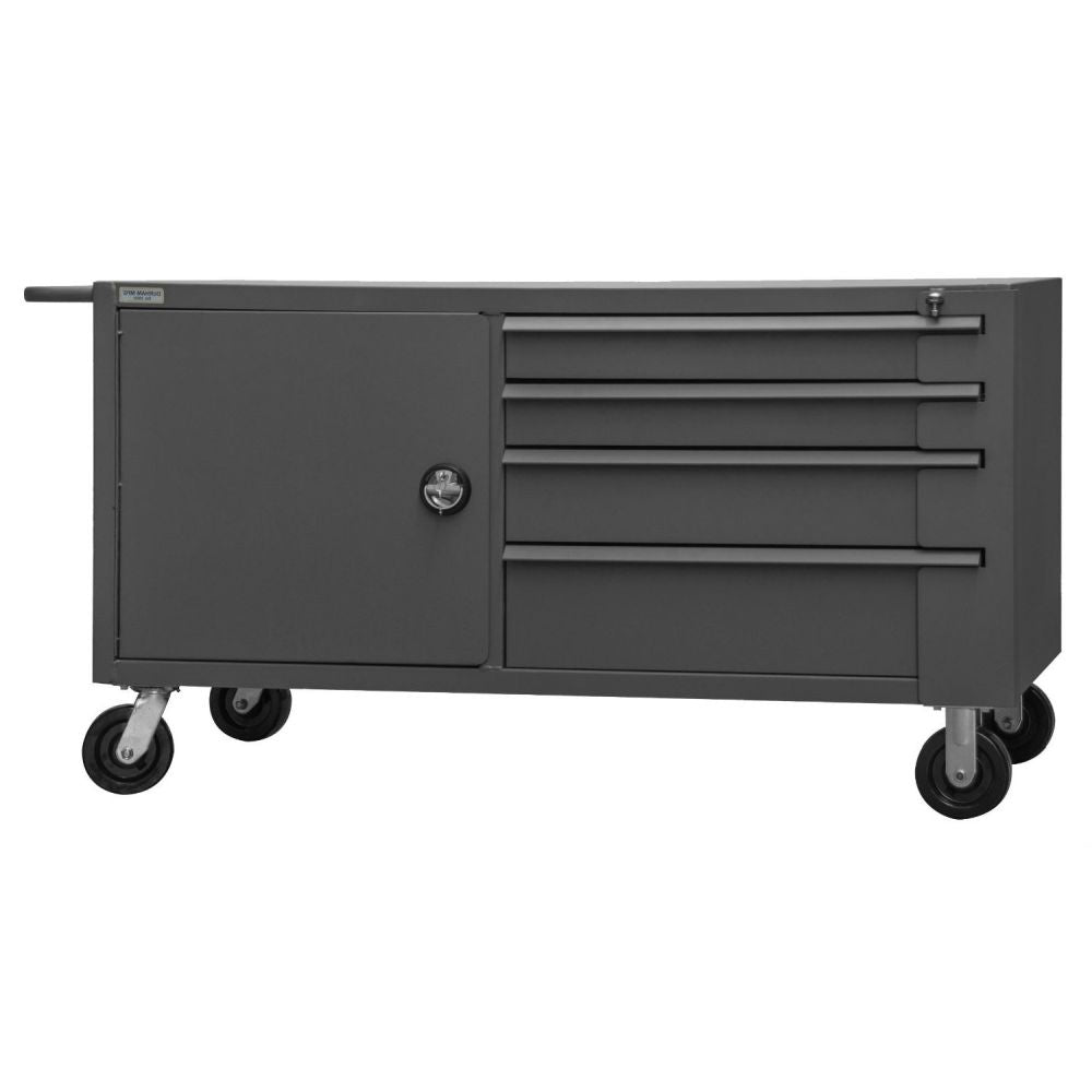 Mobile Work Bench Cabinet