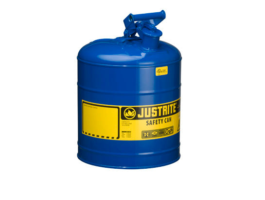 Type 1 Steel Safety Can 5 Gal S S Flame Arrest Self
