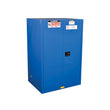 Sure-Grip Ex Hazardous Material Steel Safety Cab., 90 Gal, 2 s/c Dr