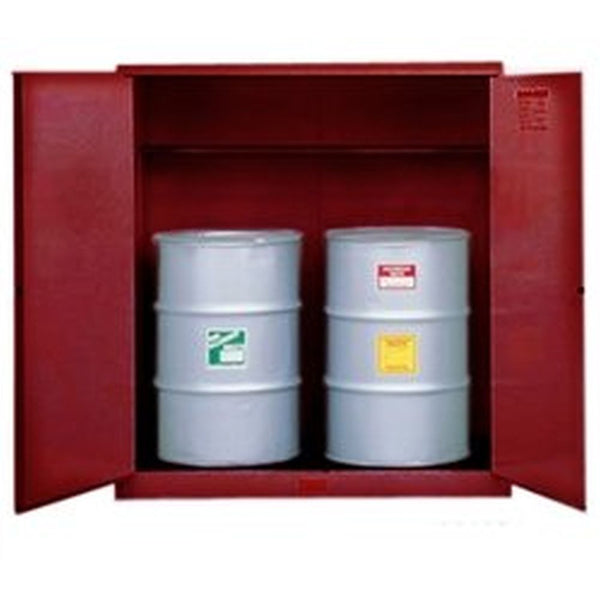 Sure-Grip Ex Vertical Drum Safety Cabinet, Support, 110 Gal, 2 M/C Dr