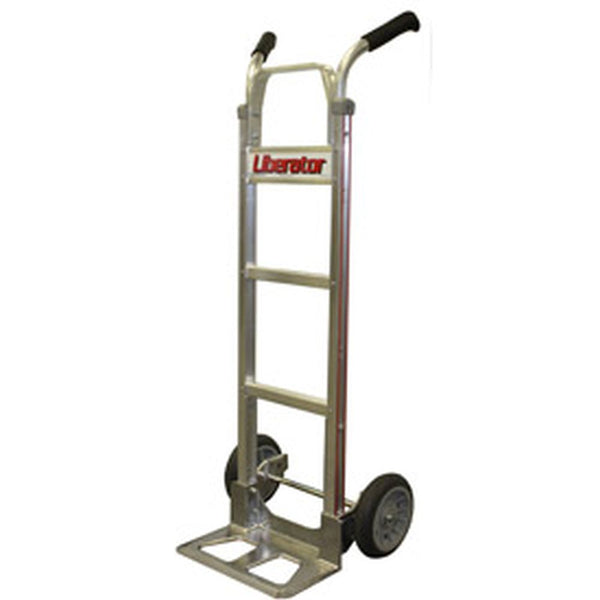 B&P Aluminum Hand Truck Double Handle Proflex Wheels