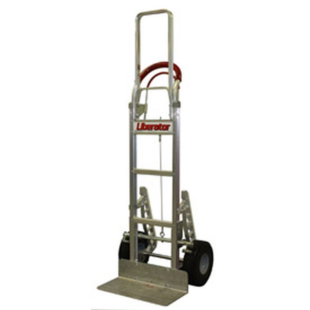 B&P Tread Brake Loop Handle Hand Truck w/ Foam Wheels