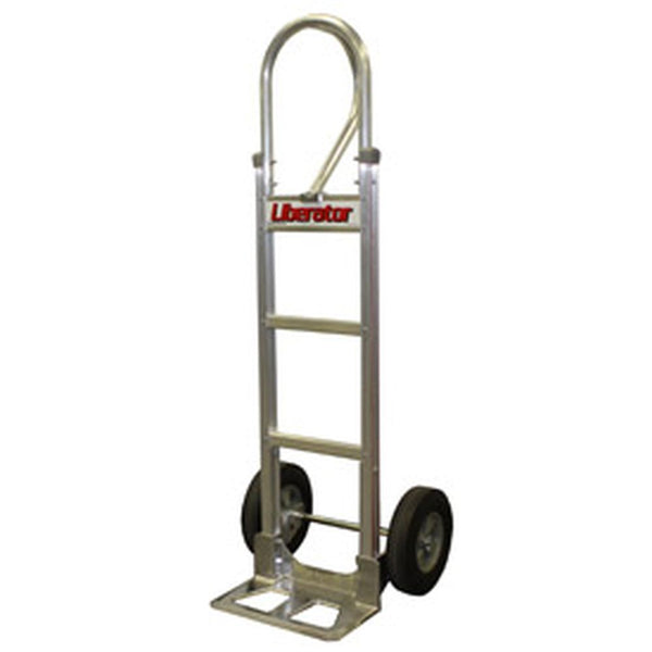 B&P Aluminum Hand Truck Loop Handle Semi-Pneu Wheels