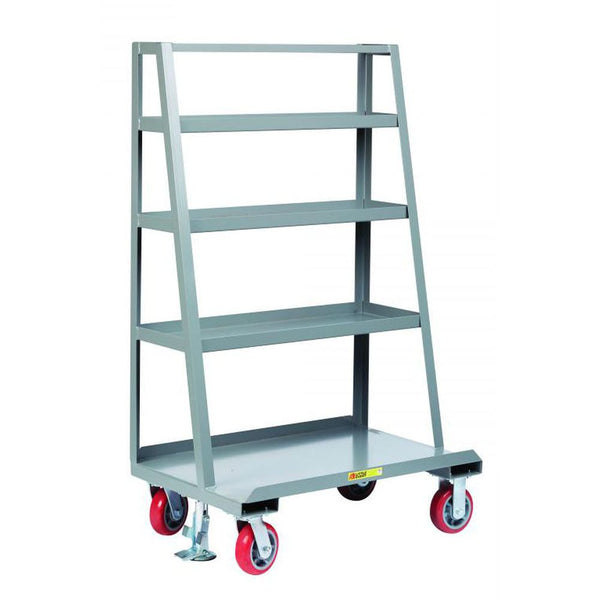 A-Frame Sheet and Panel Truck w/ Back Shelf Storage