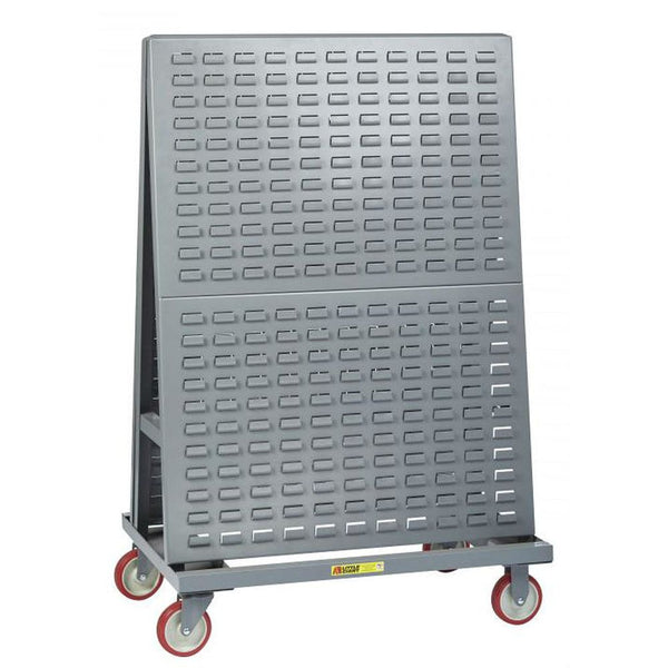 Mobile A-Frame Lean Tool Cart (Louvered Panel)