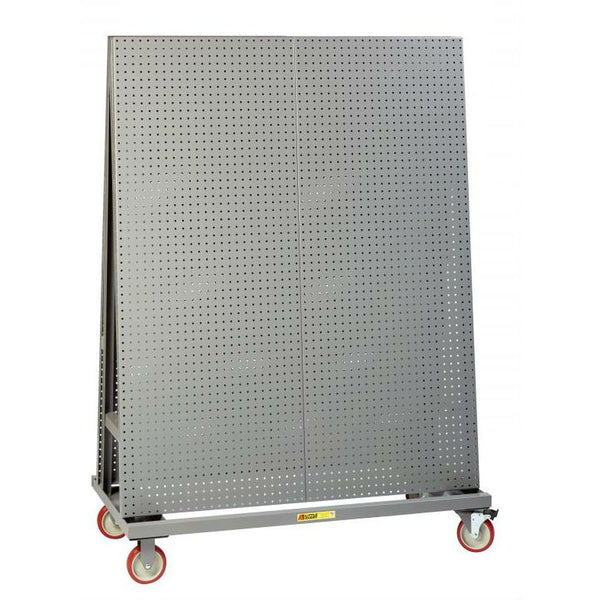 "Mobile Pegboard A-Frame 60"" Tall (Two Sided)"