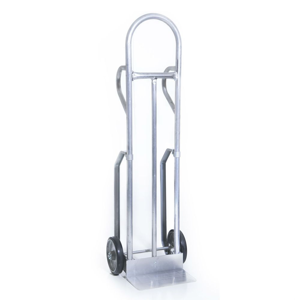 Alum. Hand Truck Continuous Loop w/ Pneumatic Wheels (18-1/2