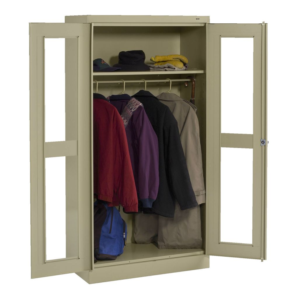 Std. C-Thru Wardrobe Storage Cabinet (Pre-Ass.) 36